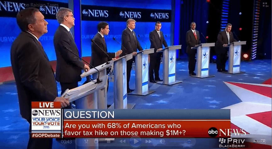 Tax Fairness Question at GOP Debate Rooted in Falsehood Spread by Media