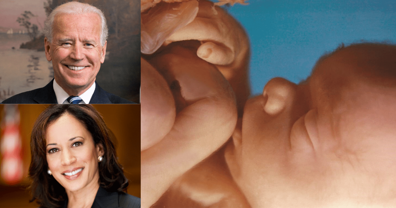 Yes, Joe Biden and Kamala Harris Are Planning to Legalize Abortion Up To Birth