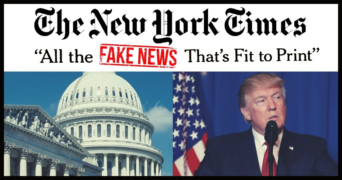 "The New York Times' Brazenly False ""Fact Check"" About Trump's Impeachment Trial"